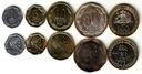 CHILE zestaw 5 monet
