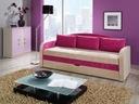 Sofa rozkładana TENUS wrzos okazja MEBLOHAUS