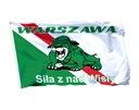 Flaga Warszawa Siła z nad Wisły Warszawa Polska