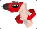 YATO WKRĘTARKA AKUMULATOROWA WKRĘTAK 3,6V 100BITÓW Pojemność akumulatora 1.3 Ah