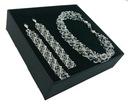 Komplet ŚLUBNY z kryształów SWAROVSKI 806