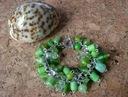 Bransoletka Zielona ze Szlanych Koralików