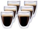 Szklanki Termiczne do Kawy Herbaty Coffee Kubki x6