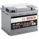 Akumulator BOSCH S5 AGM 60Ah 680A | VARTA D52 |