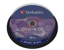 DVD+R DL VERBATIM DOUBLE LAYER 8,5GB c.10 Wa-Wa