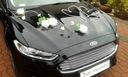 Dekoracja samochodu ozdoby na auto do ślubu kwiaty