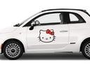 Naklejka na samochód Hello Kitty DUŻA komplet 2szt