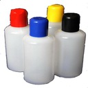 Butelki, buteleczki 50ml z korkami w 5 kol 50 szt.