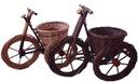 Duży ogrodowy rower.xl Wiklina PRODUCENTxl