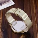 Zegarek damski złoty GENEVA biały cyrkonie Mechanizm kwarcowy