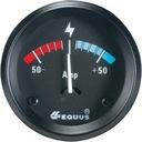 Amperomierz samochodowy zegar wskaźnik Equus USA