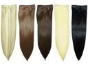 DOCZEPIANE Włosy CLIP IN Jak NATURALNE 3klipsy53cm