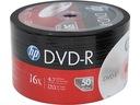 HP Płyty DVD-R 4,7GB 16x 50 szt Niezawodne WaWa