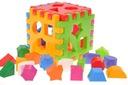 Zabawka kostka edukacyjna, manualna klocki wafle
