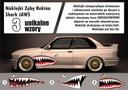 Naklejki zestaw zęby rekina SZCZĘKI SHARK JAWS !!