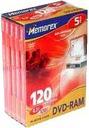 DVD-RAM MEMOREX 4.7GB 5sztuk BOX RAD-WIK Wa-Wa