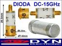 Dioda mikrofalowa detektor mieszacz DC do 15GHz