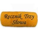 Ręcznik 70x140 z haftem 3 wyrazów
