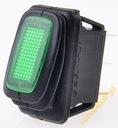 WŁĄCZNIK PRZEŁĄCZNIK LAMPA LISTWA LED 12V 25A IP65