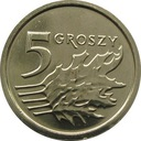 5 gr groszy 2013 mennicza z worka ROYAL MINT
