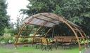 Zestaw ogrodowy 3w1 nowość z dachem ALTANKA 4mx4m