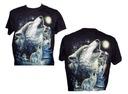 Koszulka świecąca wilki ROCK CHANG GR328 S - XXXL