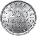 Германия 200 Марок 1923 Е - MENNICZA ИЗ РУЛОНА доставка товаров из Польши и Allegro на русском