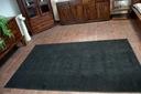 DYWAN 100x150 TRENDY czarny jednolity @24976 Kolor czarny