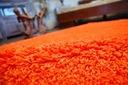 DYWAN SHAGGY 40x90 orange 5cm gładki jednolity Przeznaczenie do wnętrz