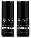 NeoNail Hard Top + Base Baza Hybrydowa + 2 Gratisy