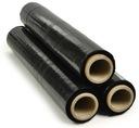 Folia Stretch Czarna 3,0 kg Mocna - strecz czarny