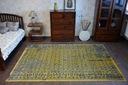 DYWAN VINTAGE 80x150 KWIATY żółty #B831 Rodzaj z krótkim włosiem