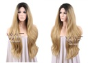 Peruka LACE FRONT ombre odrosty TwoToneHair BLOND