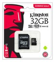 Kingston KARTA PAMIĘCI 32GB MICRO SD C10+ ADAPTER