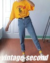 NOWE JEANSY MOM RETRO WYSOKI STAN r. 26_1-167 Fason mom jeans