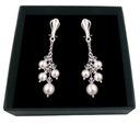 Clip auf Ohrringe mit Kristallen und Perlen SWAROVSKI 354