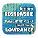 Jezioro Rosnowskie mapa na echosondy Lowrance BG