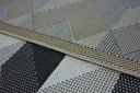 DYWAN SIZAL 200x290 KOSTKA 3D HEKSAGONY #B355 Materiał wykonania polipropylen