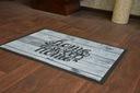 WYCIERACZKA PODGUMOWANA SWEET HOME WOOD 60x80 #W06 Długość 80 cm