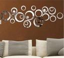 Lustrzane naklejki ścienne na ścianę efekt lustra