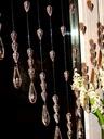 GOTOWA FIRANA kryształki koraliki makarony 120 cm