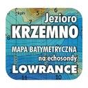 Jezioro Krzemno mapa na echosondy Lowrance Simrad