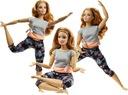 Barbie lalka gimnastyczka R + Kevin zginane ręce Wiek dziecka 3 lata +