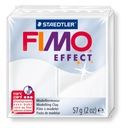 Masa Plastyczna FIMO Effect BIAŁY TRANSPARENT 014