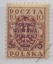 Fi 103B** - I Polska Wystawa Marek w Warszawie