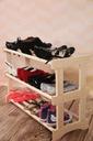 Stojak szafka regał półka na buty 60 cm 3 poziomy