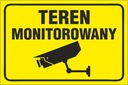 TABLICZKA - Teren MONITOROWANY 20x30 PCV 5mm | 24H