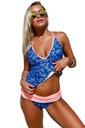 Tankini strój kąpielowy bikini kolorowe 410227 2XL Płeć Produkt damski