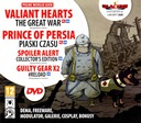 Valiant Hearts: The Great War + Prince of Persia.