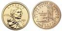 Indianka 2001 - Native American Sacagawea Dollar